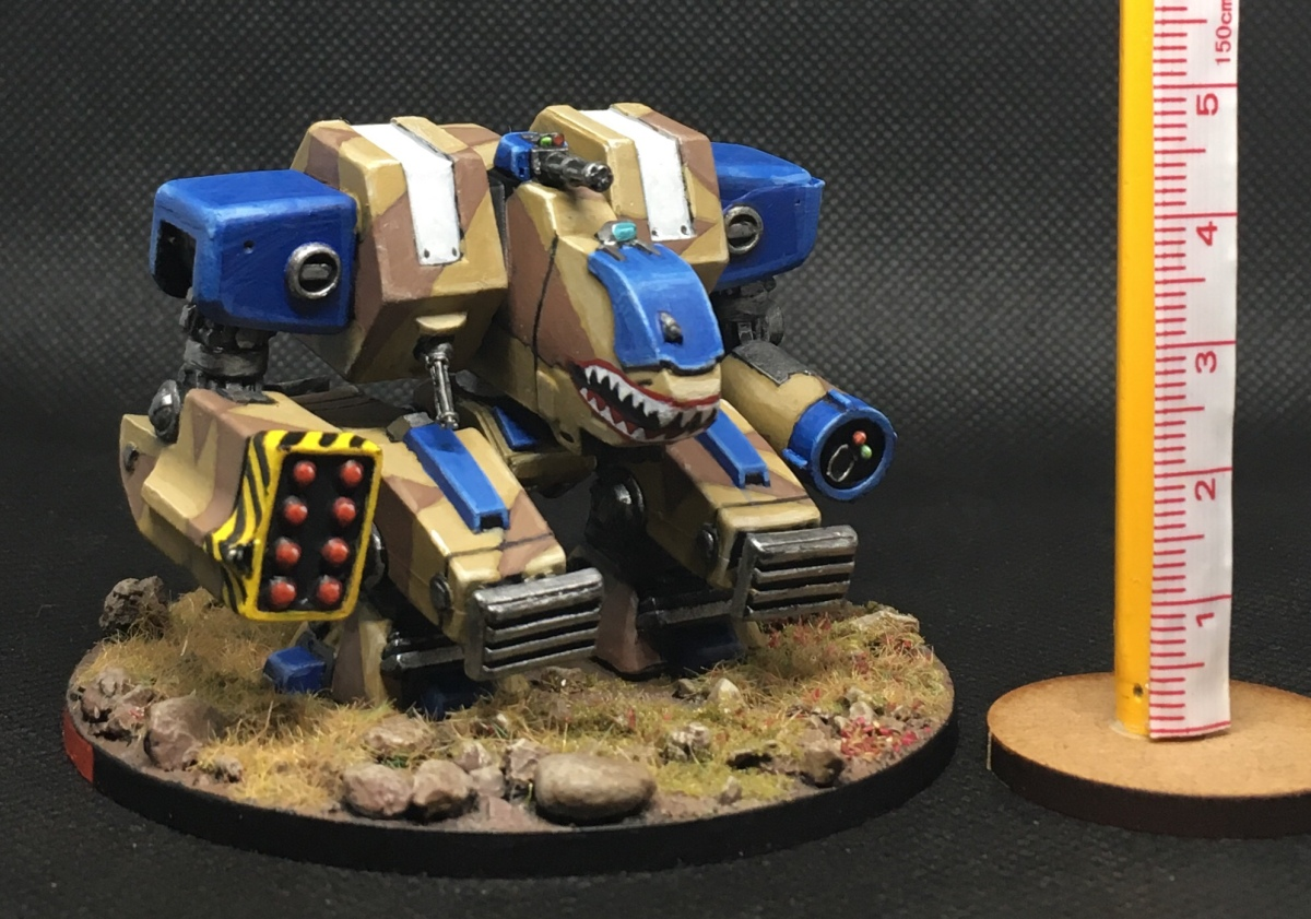 Northern Mammoth strider painted!