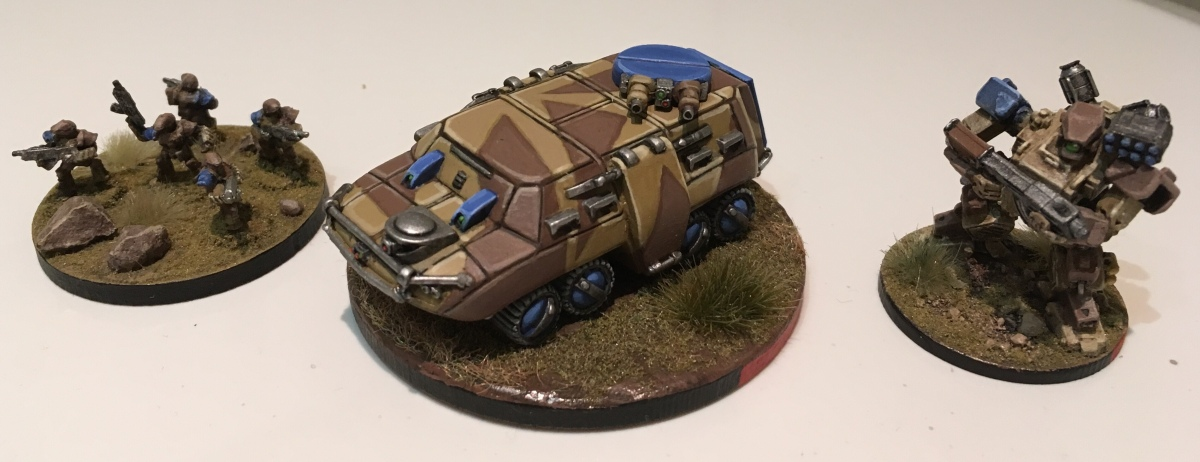 Badger APC for Heavy Gear Blitz