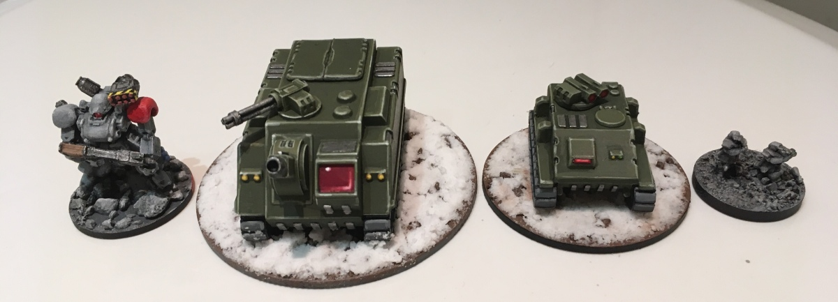 Pair of vehicles to start a Jotunheim force